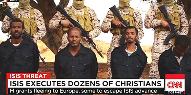 ISIS zabíjí křesťany