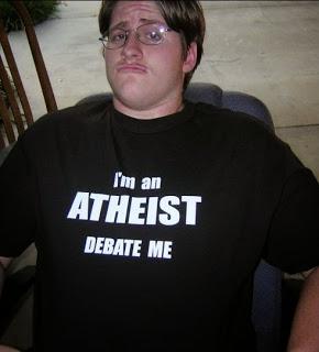 Typický internetový ateista