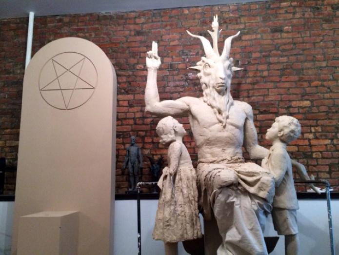 Bafomet v Detroitu (ateistická provokace)