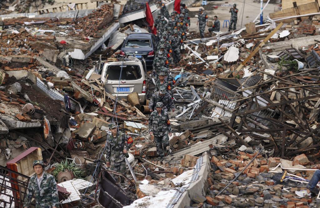 Haiti zemětřesení
