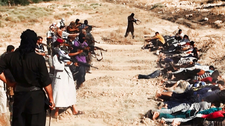 ISIS poprava křesťanů
