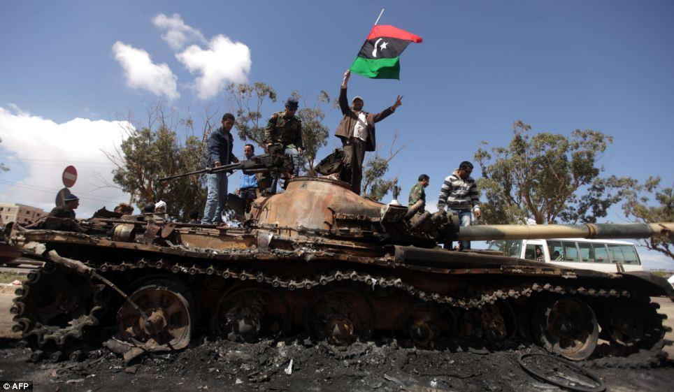 Válka v Líbyi